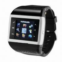 1.4-inch TFT Wristwatch Phone, Supports MP3/WAV/3GP/MP4/JPEG/GIF Manufactures