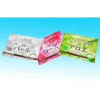 Aluminium Colorful Printing Customized Foil Zip Lock Plastic Bags For Cosmetics Manufactures