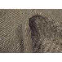 Anti - Cracking Washed Canvas Fabric 32 X 22 Density For Sports Shoes Manufactures