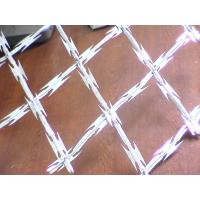 Galvanised Steel Punched Tape Concertina Coil Anti Aging BTO-28 / BTO-30 Manufactures