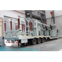 132 Kv Vehicle Mounted Transformer Substation /  Prefabricated Mobile Substation Manufactures