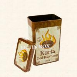 Airtight Rectangular Coffee Tin box Manufactures