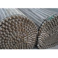 SS304 316 316L Spiral Wire Metal Mesh Belt High Temperature Resistance Manufactures