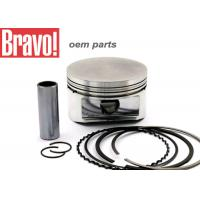 CG 125 FAN 09 Aftermarket Motorcycle Pistons , Silver Motorbike Piston Kit Manufactures