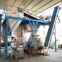 1.5t/h wood pellet production line from Yantai Lida sawdust prooof ,high automatic ,labor and space saving