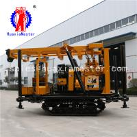 XYD-200 crawler geology expoloration drilling rig /engineering core drilling equipment hydraulic system high efficiency Manufactures