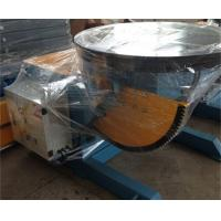 Welding Rotary Positioner 2 T Pipe Welding Positioners 120° Tilting Angle CE Manufactures
