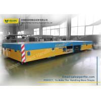 Trackless Transfer Bogie Electric Trailer Trolley Low Noise Easy Operation Manufactures