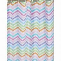2012 Printed Design Polyester Shower Curtain, Fashionable Manufactures