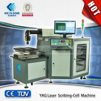 High efficiency Yag laser scribing-cell machine/yag solar cell scribing machine for mono crystalline silicon Manufactures
