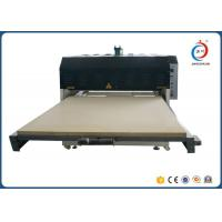 Low Noise Automatic Heat Transfer Machine Hydraulic Dual Station Fabric Flatbed Manufactures