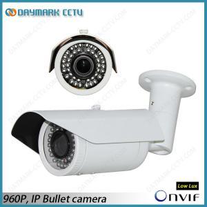 1.3Mpixels Onvif Weatherproof IP Camera 42pcs IR LEDs Manufactures