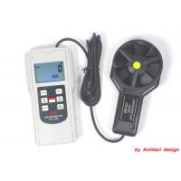 China Digital Wind Speed Meter Anemometer , Electronic Anemometer LCD Screen on sale