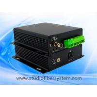 8CH analog audio fiber converter with Phoenix connectors for broadcast audio over SM fiber to 20~80KM Manufactures