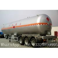 China famous leading bulk propane gas tank semitrailer for sale, hot sale best price lpg gas tank semitrailer for sale Manufactures