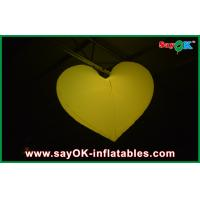 Indoor Wedding Inflatable Lighting Decoration Led Inflatable Heart Manufactures