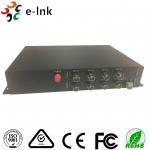 Single Mode SDI To Fiber Optic Converter 1 Channel RS485 Reverse Data 20km 12 Watt Manufactures