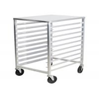 China Bun Pan Bakery Oven Commercial Bakery Rack Trolley With Heat Resistant Wheels on sale