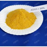 China Gloden Yellow Industrial Water Treatment Coagulant HS 3824909990 Harmless on sale