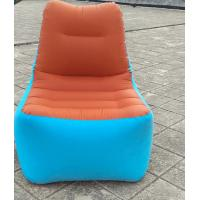 High quality luxury comfortable inflatable single Lazy Folding Lounge Camping outdoor indoor seat sofa chair Manufactures