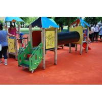 China Pour In Place Playground Surface Materials For Kids Playing Polyurethane Resin Material on sale