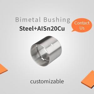 China Steel + AISn20Cu , Bimetal Bearing Bushes , china supplier, high quality, Copper Plating/Tin Plating on sale