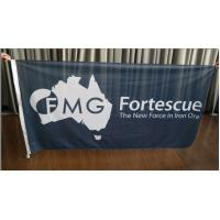 Rectangle Fabric Flag Banners Outdoors Marketing Flags For Advertising Manufactures
