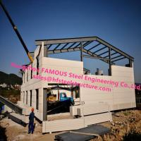 Prefab House Light Steel Villa Prefab Metal Buildings With Welded Frame Manufactures