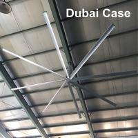 17ft Giant Ceiling Fan , Large Industrial Ceiling Fans With Germany NORD Motor