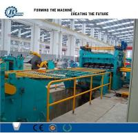 High Efficiency Metal Slitting Line , Automatic Slitting Machine With Anti - Rust Roller Manufactures