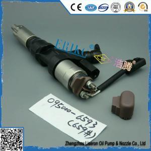 Inyector diesel precio 095000-6593 Hino denso injector 0950006593 , diesel fuel injector unit 095000 6593 Manufactures