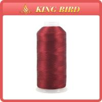 China Knitting Dyed 3000m Machine Embroidery Threads Mercerized Thread on sale
