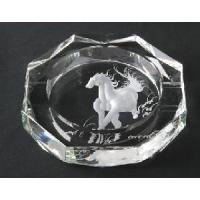 Crystal Glass Ashtray (JD-YG-009) Manufactures
