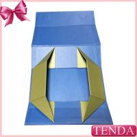 China Magnetic Closure Folded Foldable Folding Collasible Paper Box with Metal Magnets on sale