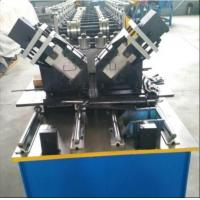 CNC Metal Stud And Track Roll Forming Machine C U Channel Section Profile 0.55-0.8mm Thickness Manufactures