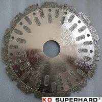 electroplated diamond cutting wheel Manufactures