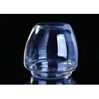 China Popular Custom Candle Glass Containers Crystal Glass Candle Vessels For Decoration on sale