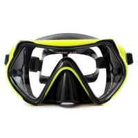 Food Grade Silicone Snorkel Mask , Anti-fog Diving Mask for Adult Manufactures