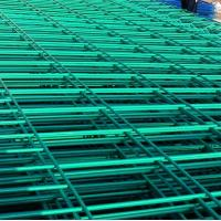 green yellow white powder coated steel wire fence panel Manufactures