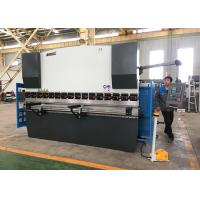 High Accuracy Mini Press Brake Machine , Computerized Metal Brake With Light Guards Manufactures