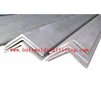 China ASTM 347 Stainless Steel Angle Bars Thickness 2.0mm -18mm Tolerance h9 h11 on sale