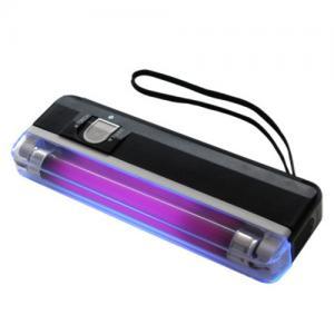Purple UV Mini Money Detector / Multi-Currency Detector , OEM Manufactures