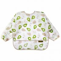 Mealtime Baby Feeding Smock Long Sleeve Bibs For Toddlers 6-36 Months Manufactures