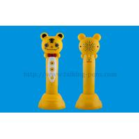 China Children Toy Electronic Sounding Pen Tiger / Frog Shape 3.5mm Earphone Jack on sale