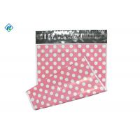 2.5 mil 10x13inch Pink Polka Dot Poly Mailers Mailing Bags with Adheisve Manufactures