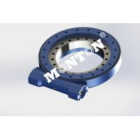Durable Slewing Ring Drive , Small Slew Drive Fit Solar Tracking System Manufactures