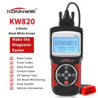 China ABS Obd2 Eobd Car Diagnostic Scanner Support German Dutch Obd Reader Konnwei KW820 on sale