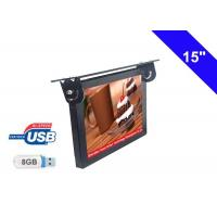 Commercial Bus LCD Display 15 Inch With Ceiling Mounted Installation Manufactures