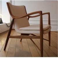 Hand - Carved Armrests Living Spaces Accent Chairs  With Wooden Stretcher Manufactures