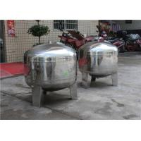 Stainless Steel RO Water Storage Tank Food Grade Liquid Water Milk Buffer Beer Tank Manufactures